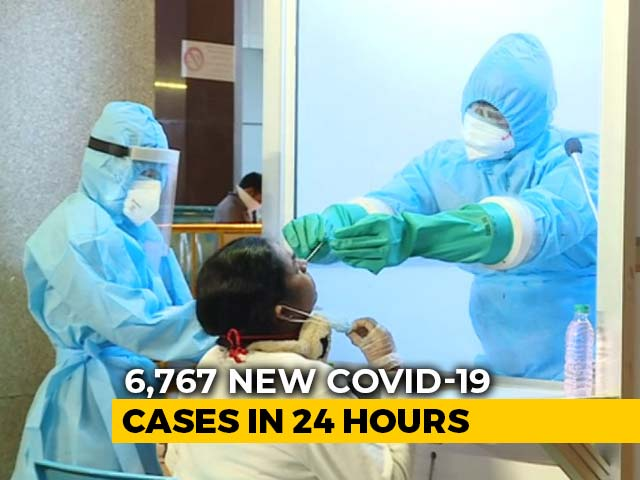 Video : 6,767 Coronavirus Cases In 24 Hours, Biggest Single-Day Spike In India