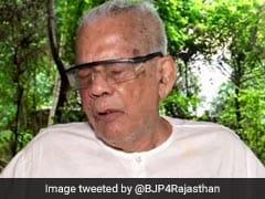 Former Rajasthan BJP Chief, Veteran Politician Bhanwar Lal Sharma Dies