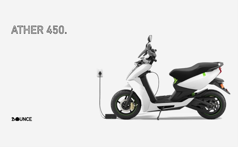 Ather Energy & Bounce Announce Tie-Up For Scooter Sharing Program