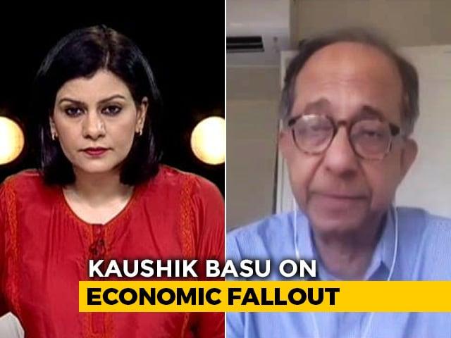 "Video : ""Concerned About Economy"": Former Chief Economic Advisor Kaushik Basu"