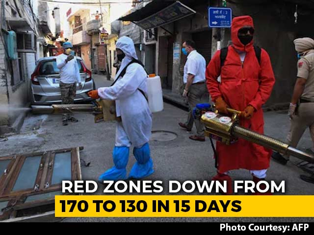 Video : Number Of COVID-19 Hotspots Down In 2 Weeks, But So Are Virus-Free Zones