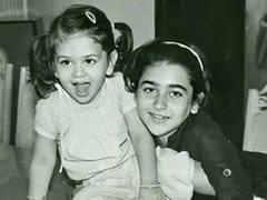 Viral: Tiny Kareena Kapoor With Sister Karisma In A Priceless Throwback Pic