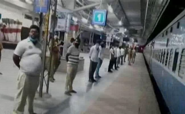 First Special Train From Telangana, .png
