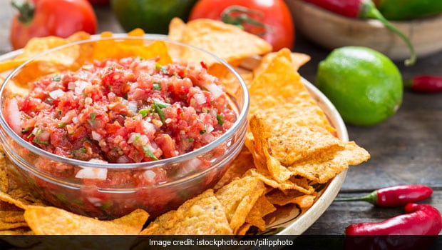 Tired Of Eating Chips And Nachos For Snacks, Try Pairing It With This Easy Tomato Salsa