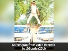 Watch: Cop Pulls A Stunt From Old Ajay Devgn Movie, Fined Rs 5,000