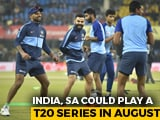 Video : India May Tour South Africa In August For Three-Match T20I Series