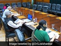 S Jaishankar Holds Virtual Meet With South Korean Counterpart Amid COVID-19