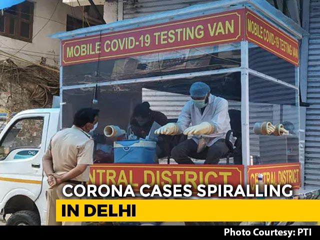 Video : Delhi Up By 428 Coronavirus Cases, Highest In A Day. Total Over 5,500