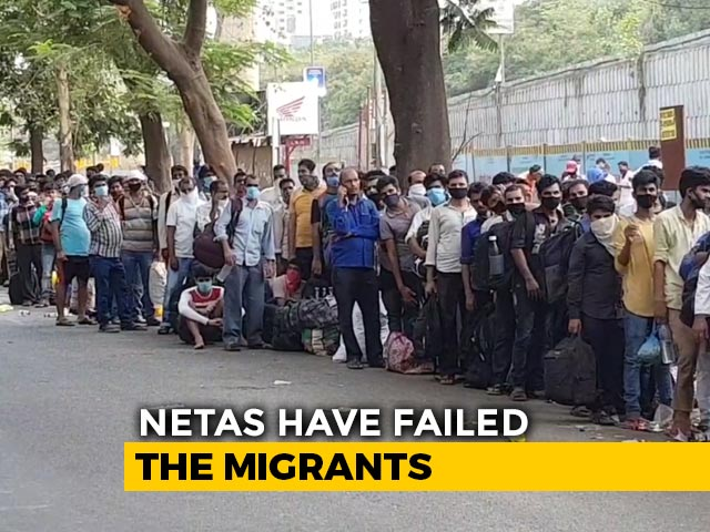 Video : As States Vs Centre Debate, Migrants The Collateral
