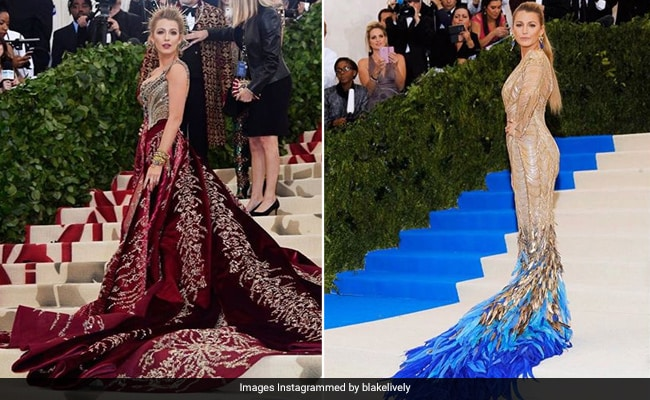 ICYMI: This Celeb Has Been Matching Her Met Gala Outfits With The Carpet All These Years