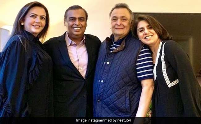 Neetu Kapoor's Shout-Out To The Ambanis, 'Guardian Angels' While Rishi Kapoor Was Ill