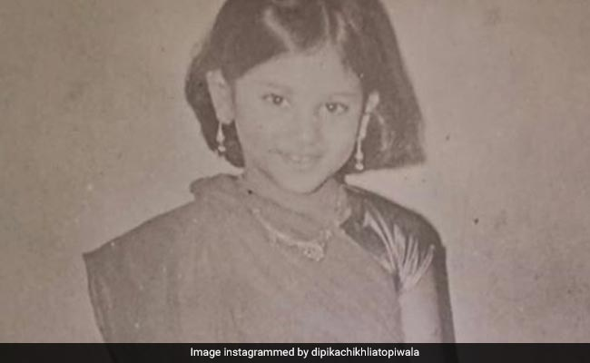 Who Knew This 'Toothless' Kid Would One Day Be Sita In Ramayan? See Dipika Chikhlia's Pic