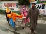 Video : Video Of J&K Family Carrying Woman's Body On Stretcher Triggers Protests