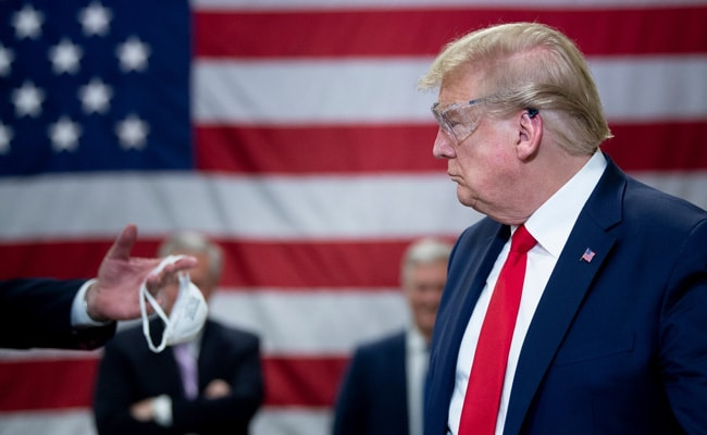 Donald Trump Tests Negative For Coronavirus After Military Aide Infected