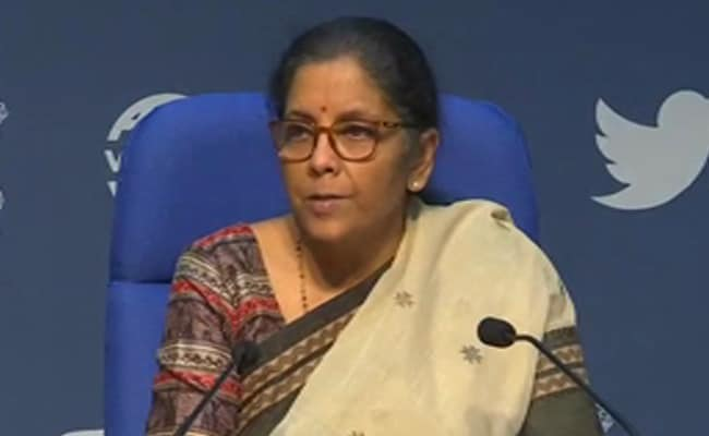 Government To Halt New Insolvency Proceedings For A Year Amid COVID-19: Nirmala Sitharaman