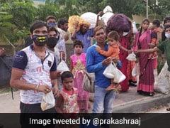 प्रवासी मजदूरों को उनके घर पहुंचा रहे प्रकाश राज ने किया Tweet, बोलें- मैं भीख मांगूगा या उधार लूंगा लेकिन...