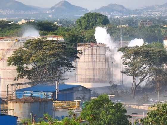 Gas Leak: Supreme Court Allows 30 Employees To Access Sealed Visakhapatnam Plant
