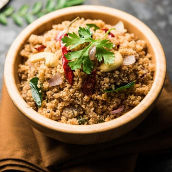 Give A Healthy Spin To <i>Upma</i> With Millets For A Power Breakfast