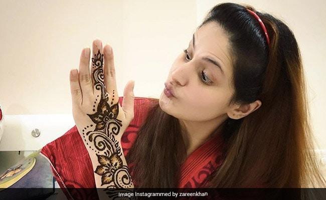 Eid 2020: Inside Zareen Khan's Festive Preparations. See Pics