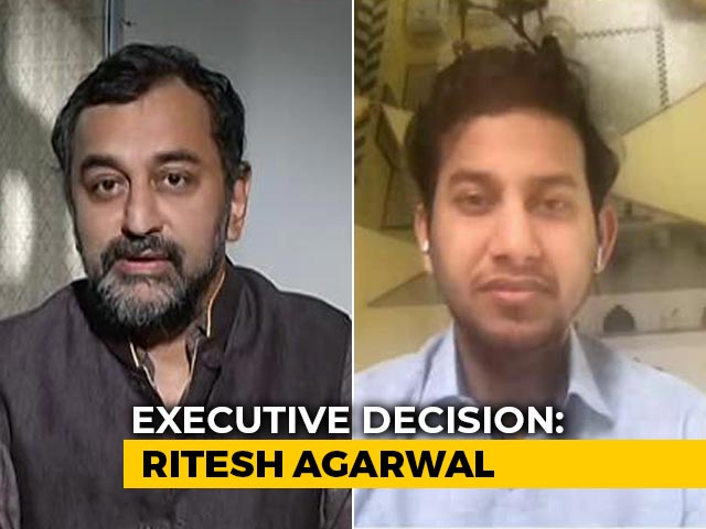 Video : Coronavirus Impact On Hotels Industry To Stay For Some Time: Ritesh Agarwal