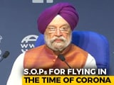 """Video : """"Why Fuss Over Quarantine"""": Civil Aviation Minister On Domestic Flights Being Resumed"""