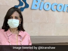 """""""Good To Be Back"""": Kiran Mazumdar Shaw Attends Office For First Time Since March"""