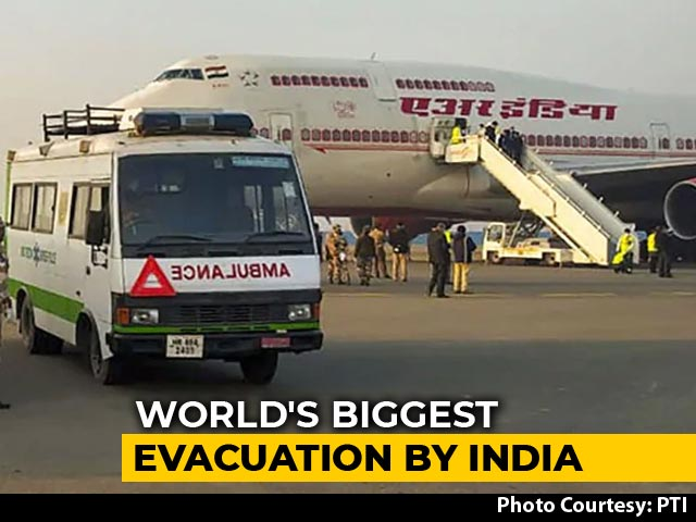 Video : India To Launch World's Largest Evacuation On Thursday