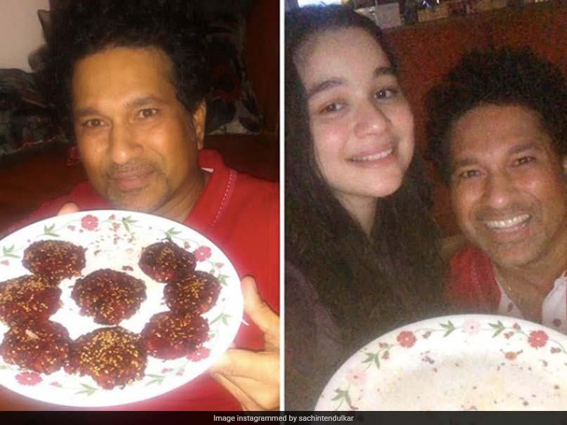 """Sachin Tendulkar Thanks Daughter Sara For Making """"Fabulous Beetroot Kebabs"""". See Pictures"""