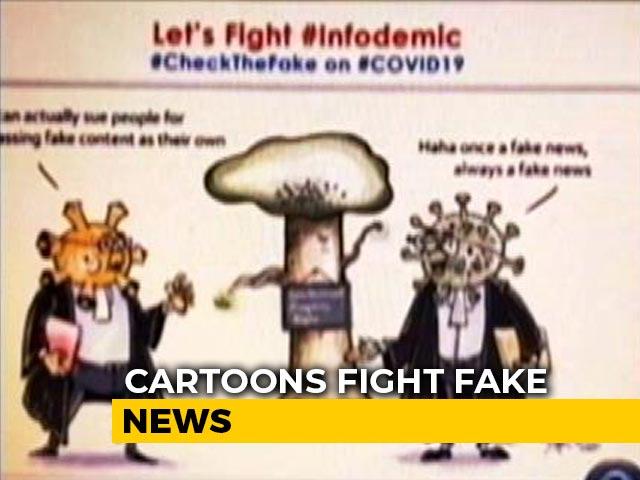 "Video : ""Pandemic, Infodemic"": 2 Cartoon Characters Battling Fake News In Assam"