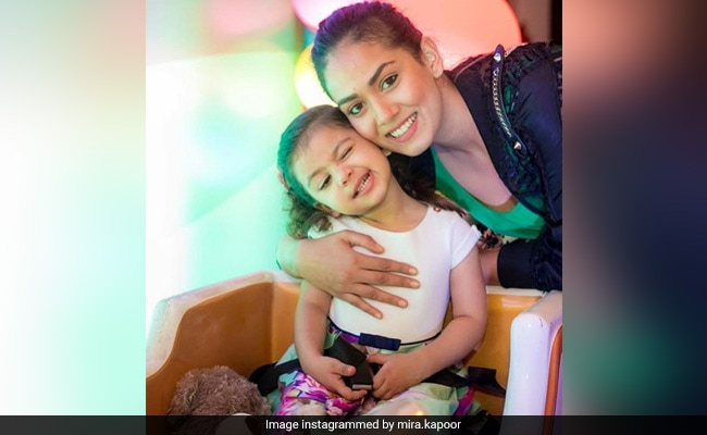 Mira Rajput And Misha's Embroidered Heart Is Making The Internet Swoon