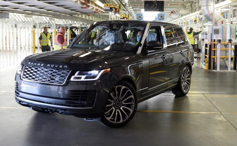 First Range Rover Made Under Social Distancing Measures Rolls Out Of Solihull Plant