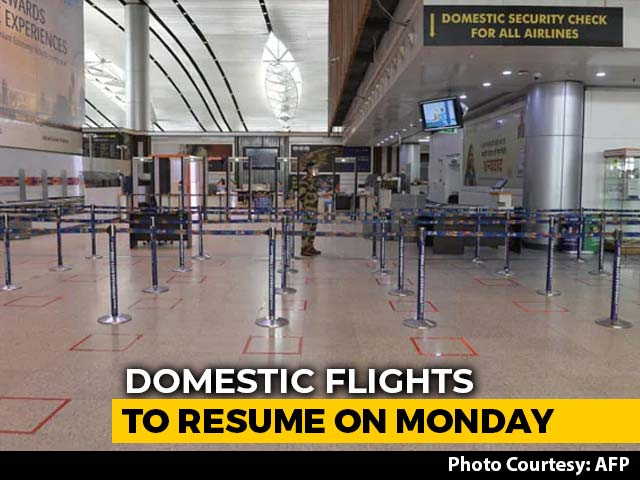 Video : Centre's Plan For Resuming Flights Runs Into Turbulence In States