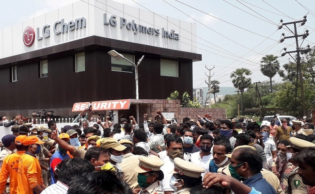 Amid Protest, Chemical Firm Sorry For Leak That Killed 11 At Andhra Plant
