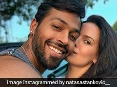 "Natasa Stankovic Wins Hardik Pandya's ""Heart"" With This Loved-Up Selfie"