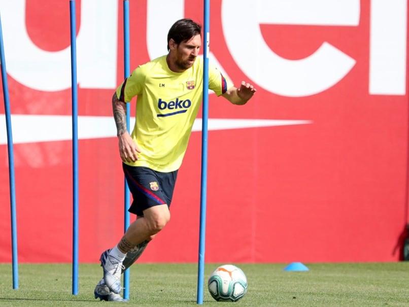 Barcelona Return To Training As La Liga Eyes Restart