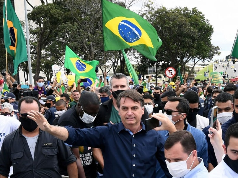 Brazil President Wants Football Back Despite Country Being COVID-19 Hotspot