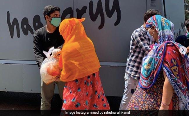Salman Khan's Food Truck 'Being Haangryy' Distributes Rations To Mumbai's Needy