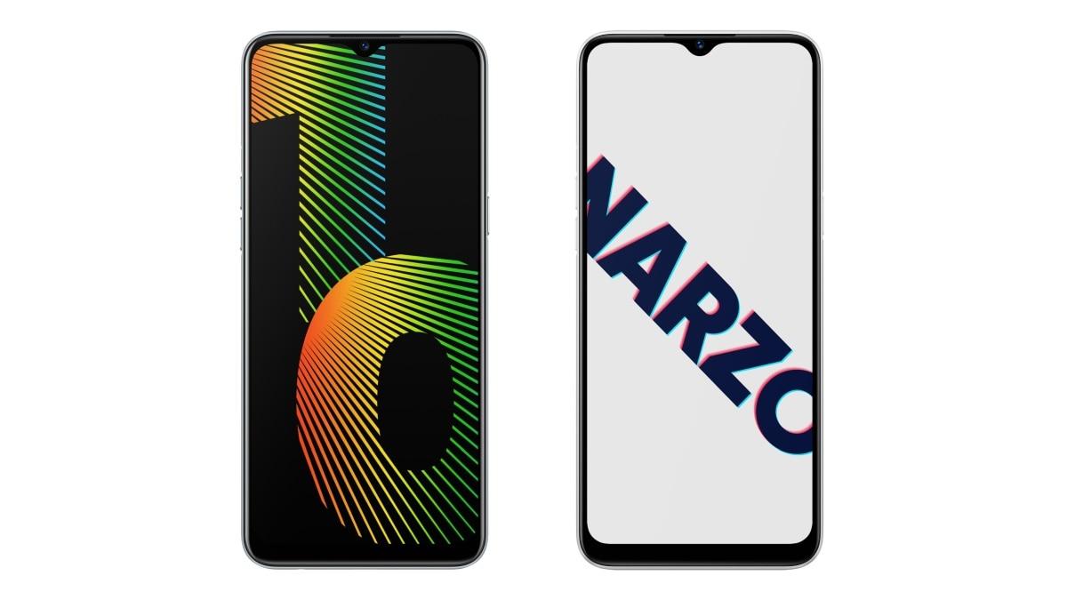 Realme Narzo 10 और Realme Narzo 10A लॉन्च, 5,000 एमएएच बैटरी से हैं लैस