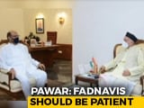 Video : Rahul Gandhi Socially Distances From Uddhav Thackeray. Sharad Pawar's Party Steps In