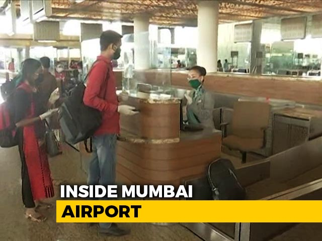 A Look Inside The Mumbai Airport With New Safety Rules