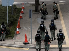 Riot Police Deployed In Hong Kong Over Protests Against Chinese Anthem Bill