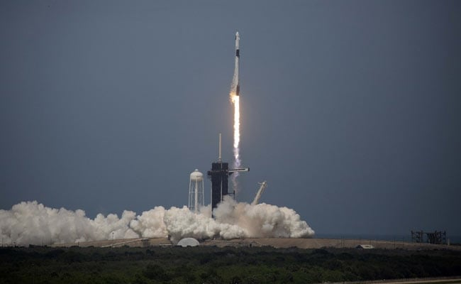 SpaceX Rocket Lifts Off In Historic First Crewed Mission By Private Firm