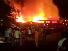 Fire Breaks Out At A Delhi Shop, No Casualties Reported