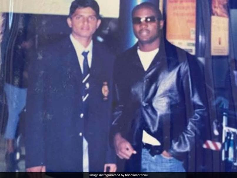 """""""Oversize Clothing Is Now A Thing Of Past"""": Brian Lara Trolls Suresh Raina In Throwback Pic"""