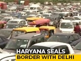 Video : Delhi-Gurgaon Border Shut, Hundreds Of Pedestrians Protest, Traffic Chaos