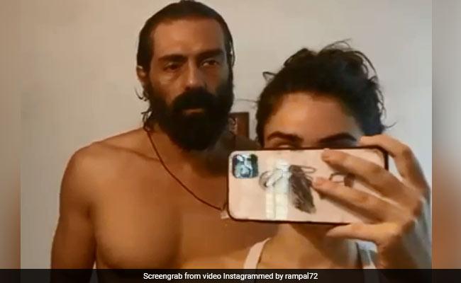 Arjun Rampal Is 'Being Civilised' Again, With Help From Girlfriend Gabriella Demetriades