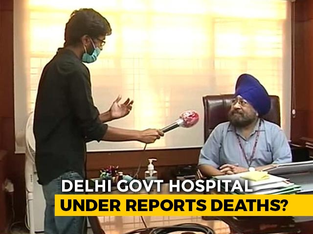 Video : Coronavirus Deaths To Surge In Delhi As Key Hospital Sets Record Straight