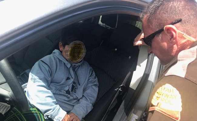 'You're Five Years Old?' US Cops Pull Over Boy Driving To California