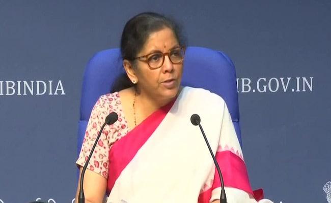 Nirmala Sitharaman Addresses Media On Fourth Set Of Measures To Battle COVID-19
