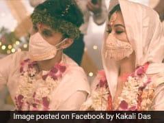 Viral Video: असम के इस कपल ने अपनी शादी में पहने सिल्क के डिजाइनर मास्क, लोगों को खूब पसंद आ रहा आइडिया